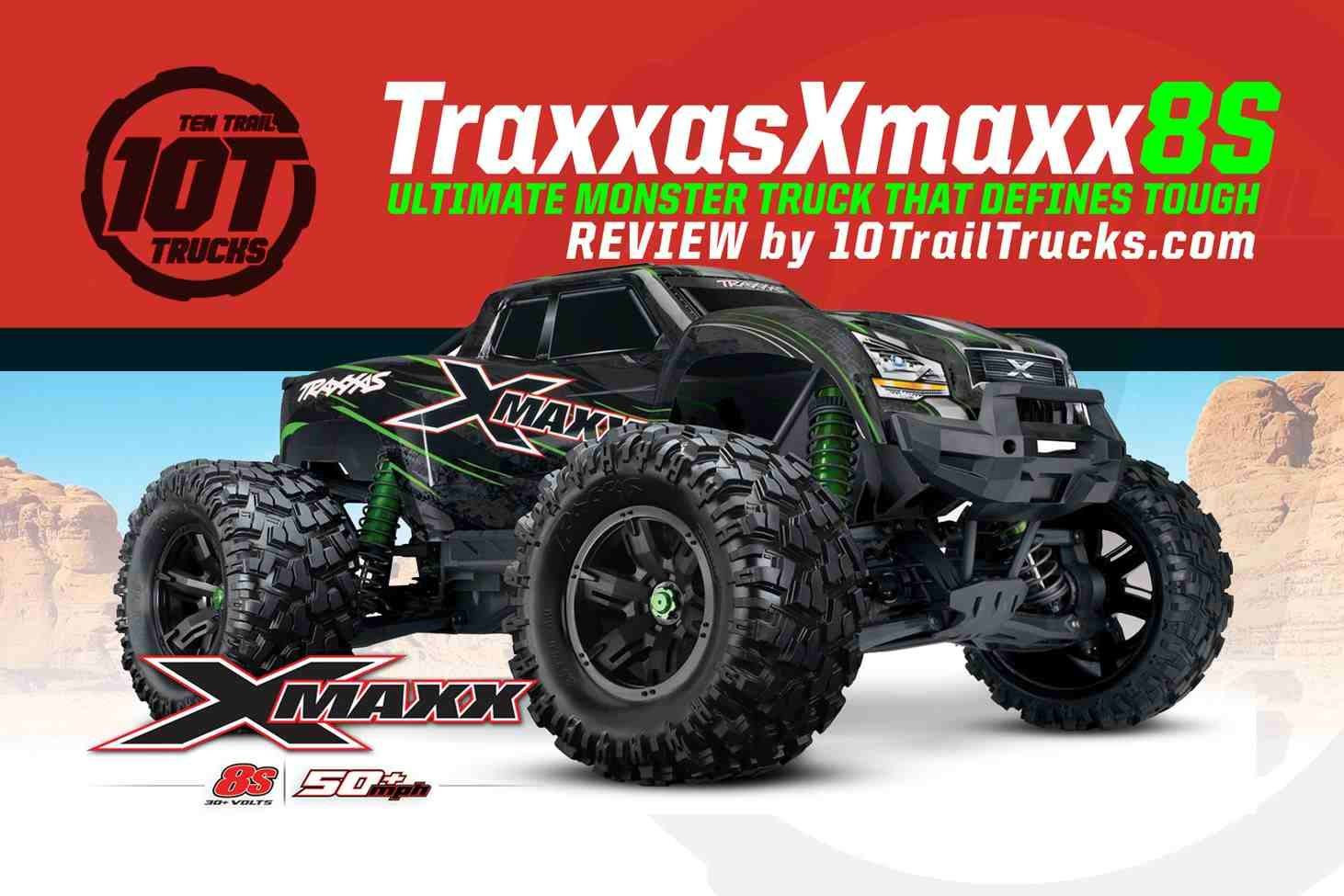 Traxxas Xmaxx Review – This Beast may just be the Truck Of The Year