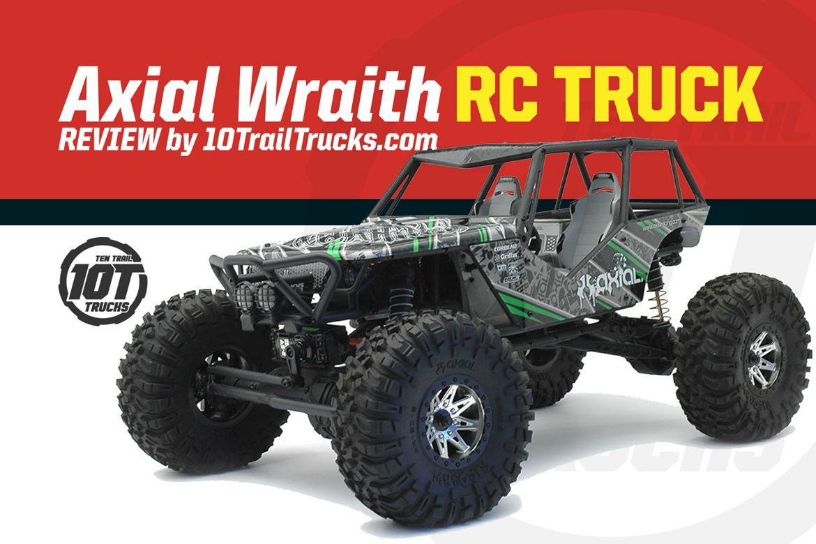 Axial Wraith Review | The Ultimate Trail Basher