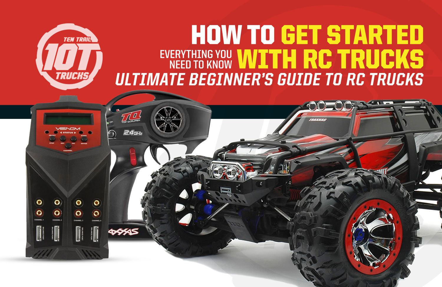 How To Get Started With RC Trucks