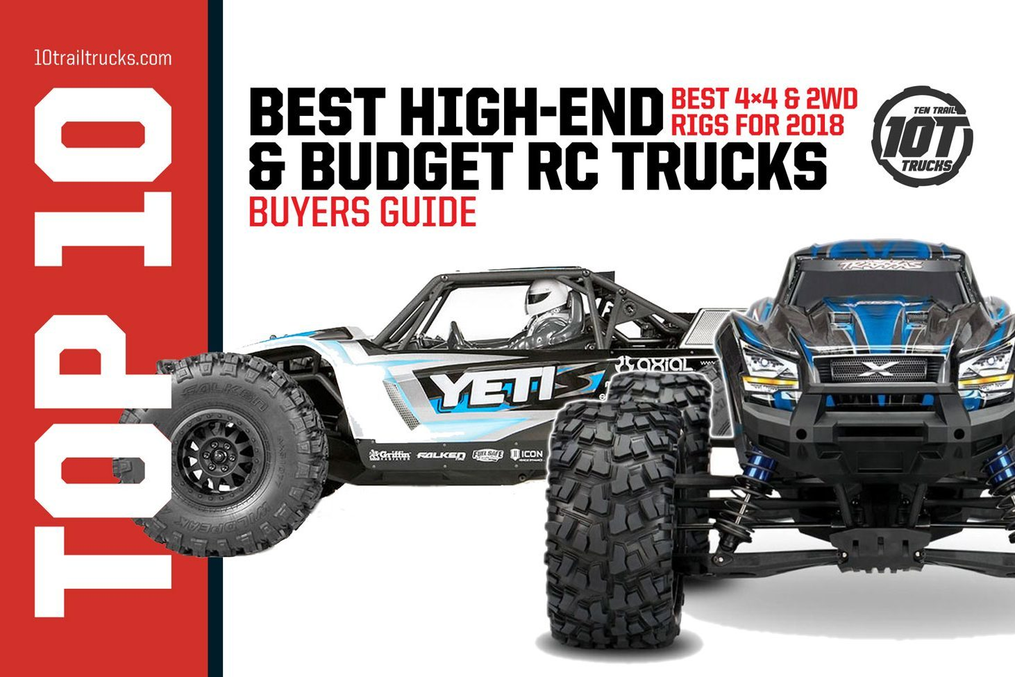 Best RC Rock Crawlers & Trail Trucks That Distroy The