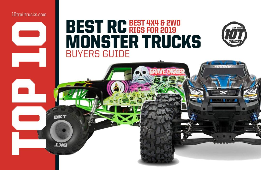 BEST RC MONSTER TRUCKS FOR EPIC JUMPING & BASHING FUN [NEW 2020 GUIDE]