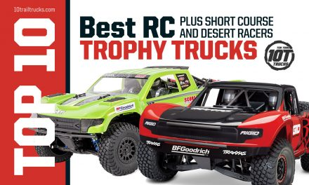 RC TROPHY TRUCKS & SHORT COURSE STADIUM TRUCKS FOR BASHING OR RACING